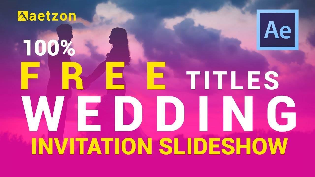 Indian Wedding Invitation Templates Video