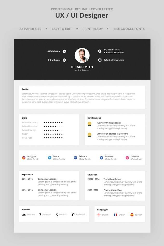 Infographic Template Design 1270 39
