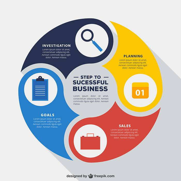 Infographic Template Design 1270 51