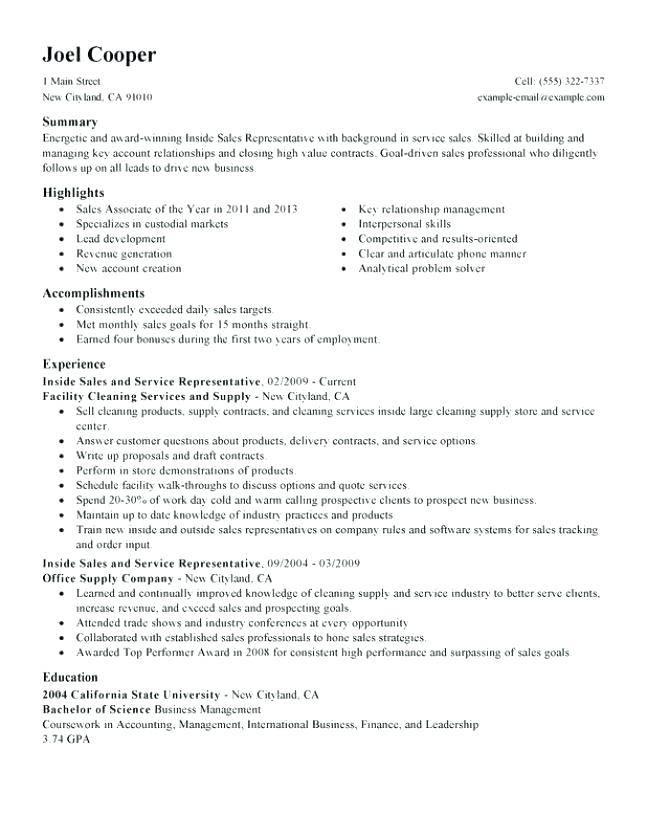 Inside Sales Job Description Template