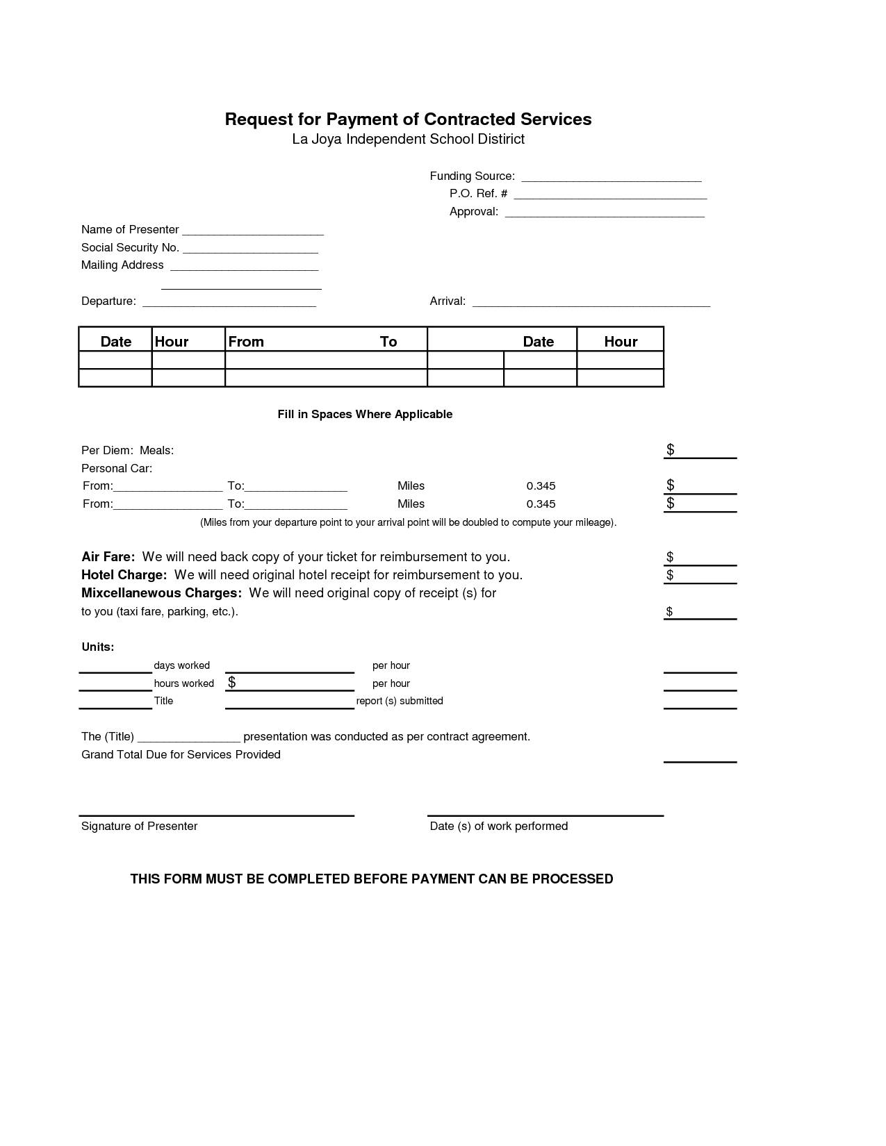 Installment Payment Contract Template Car