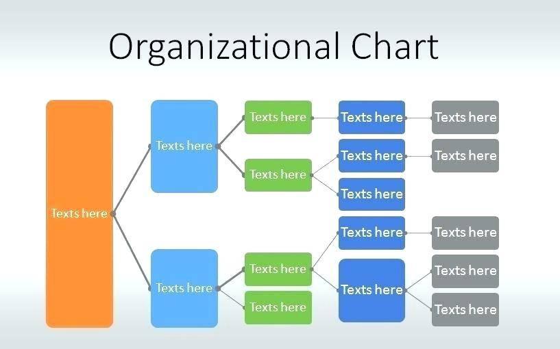 Interactive Organizational Chart Template