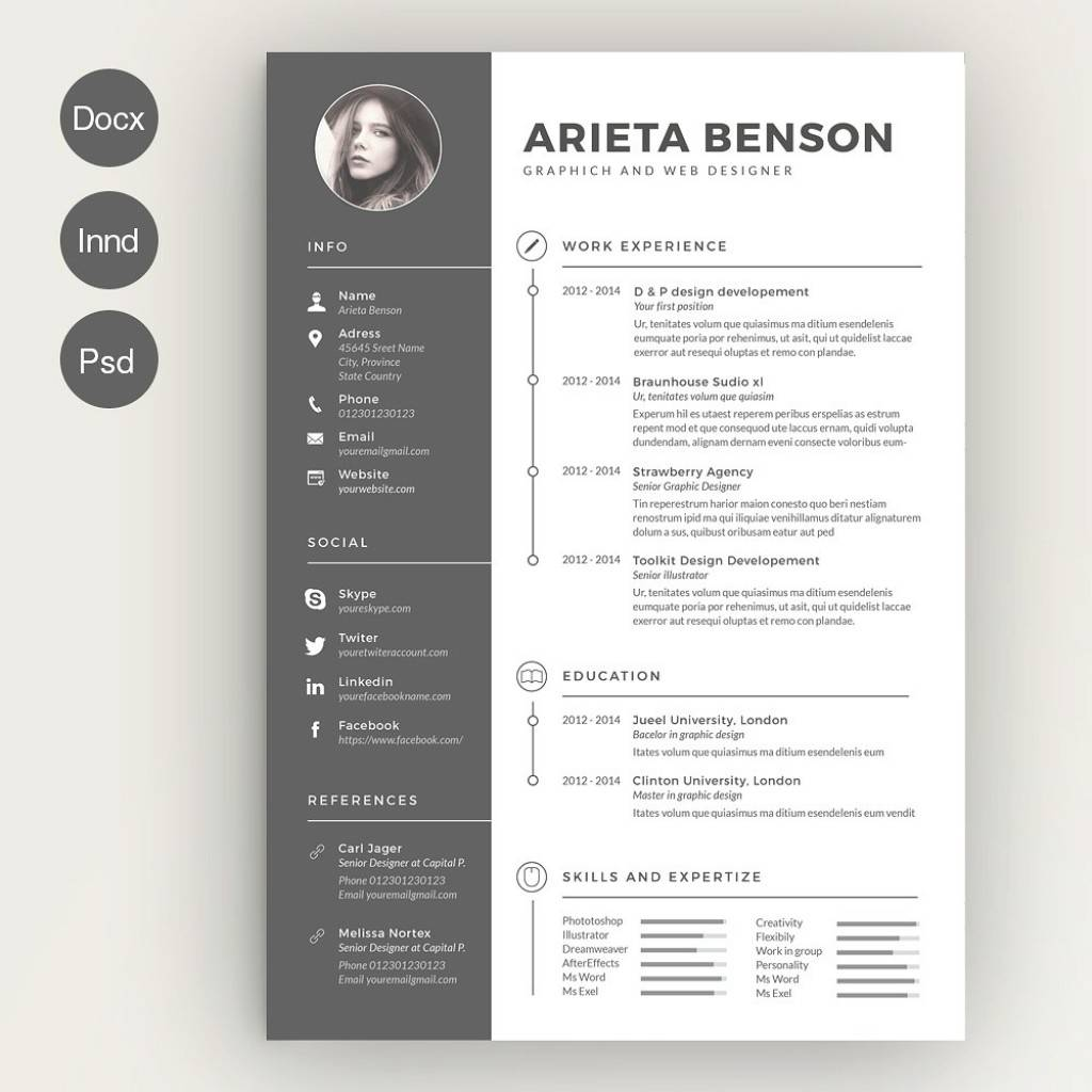Interesting Resumes Templates