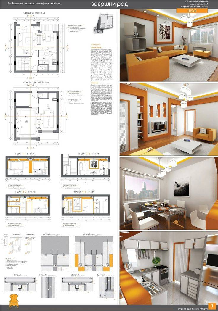 Interior Design Presentation Layout Ideas
