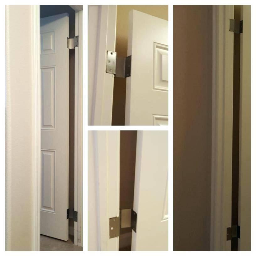 Interior Door Hinge Router Template