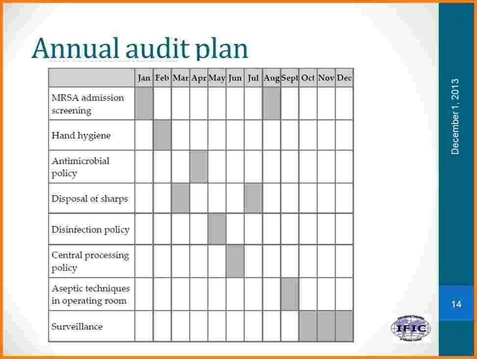 Internal Audit Plan Template Ppt