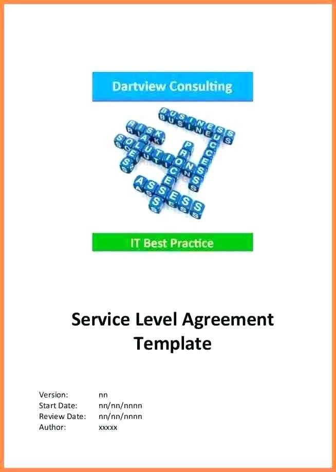 Internal Hr Service Level Agreement Template