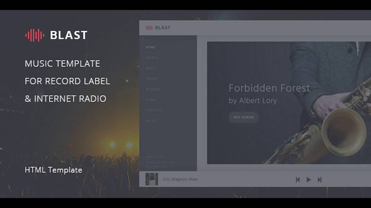 Internet Radio Website Templates