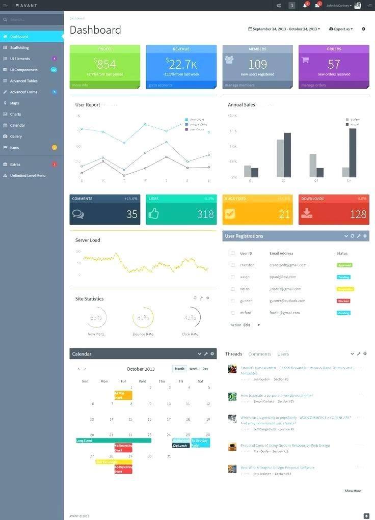 Intranet Web Portal Templates