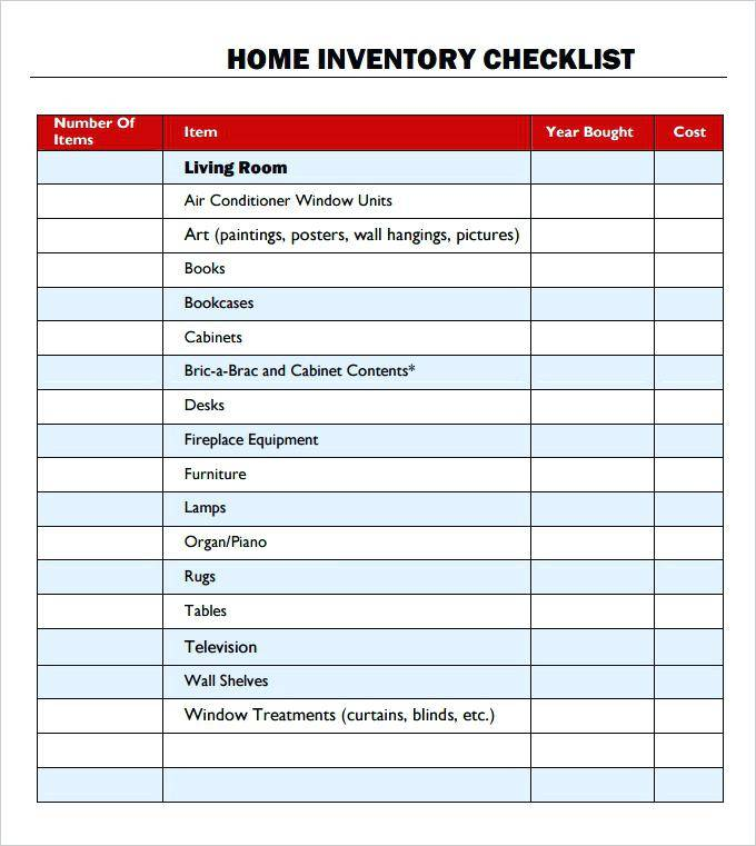 Inventory Spreadsheet Template With Pictures