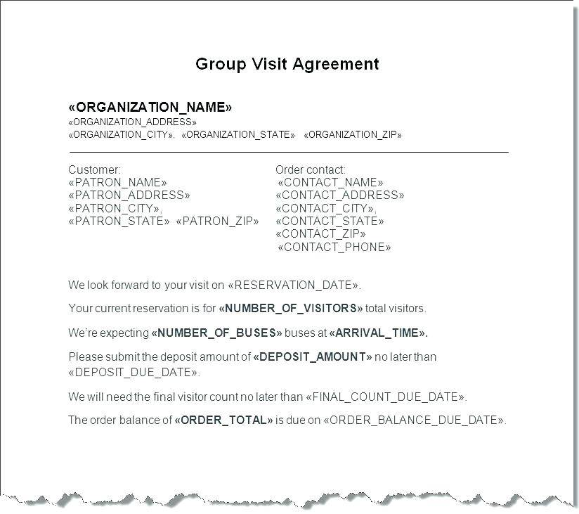 Investment Group Contract Template