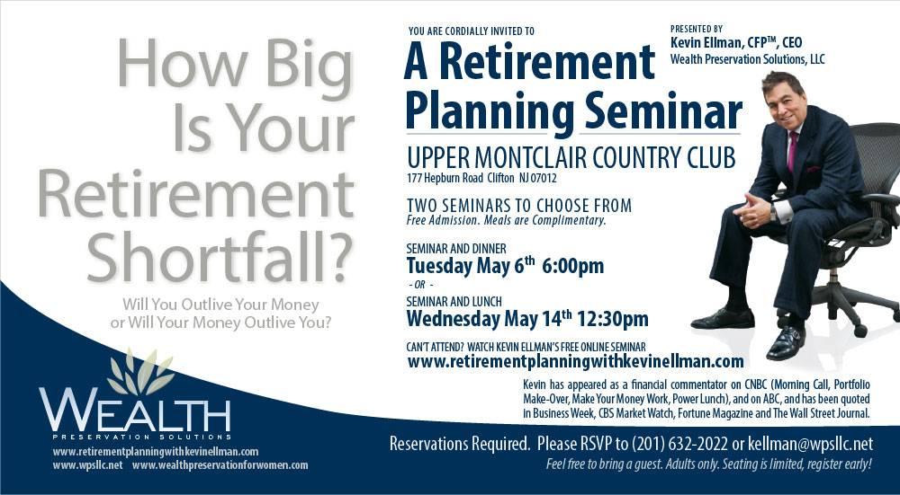 Investment Seminar Invitation Template