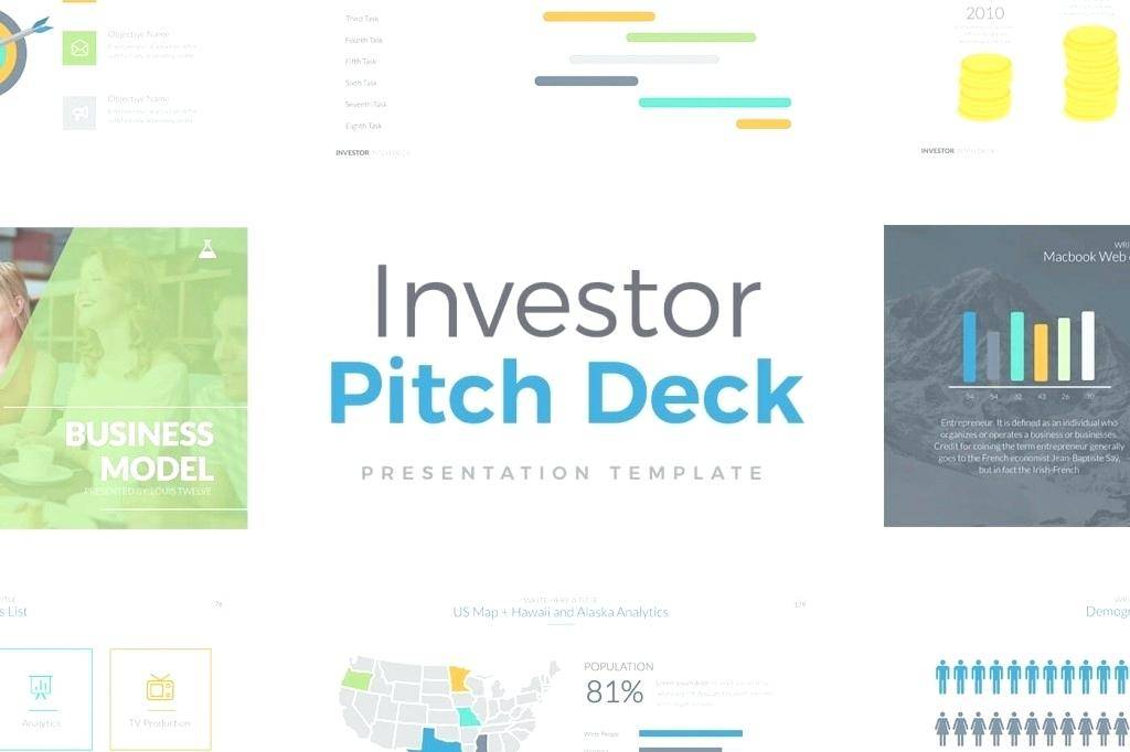Investor Pitch Deck Keynote Template Free Download