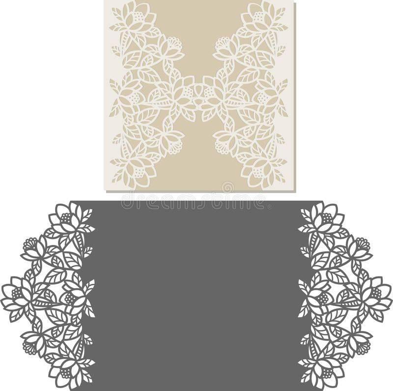 Invitation Card Envelope Template