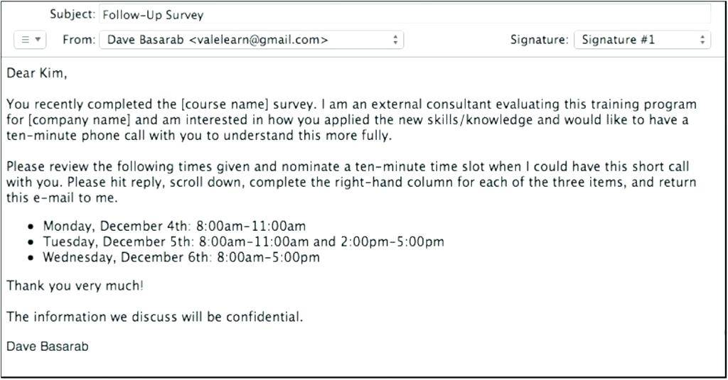 Invitation Confirmation Email Template