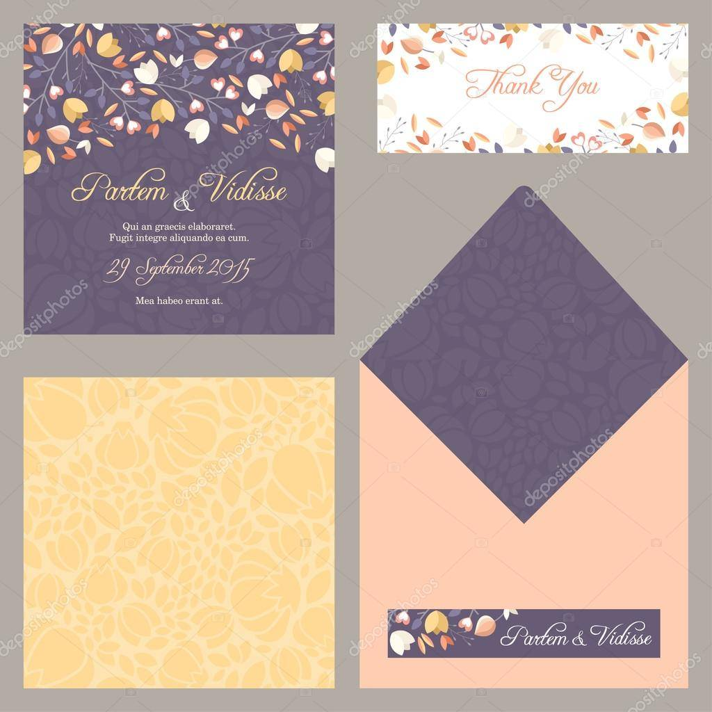 Invitation Envelope Design Template