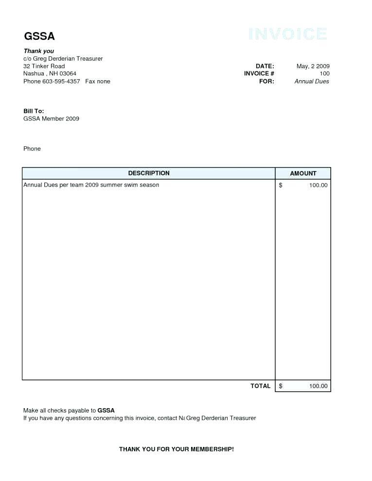 Invoice Android Example