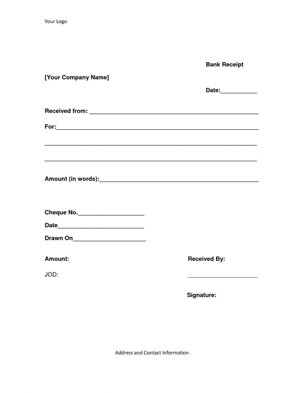 Invoice Letter Template Word
