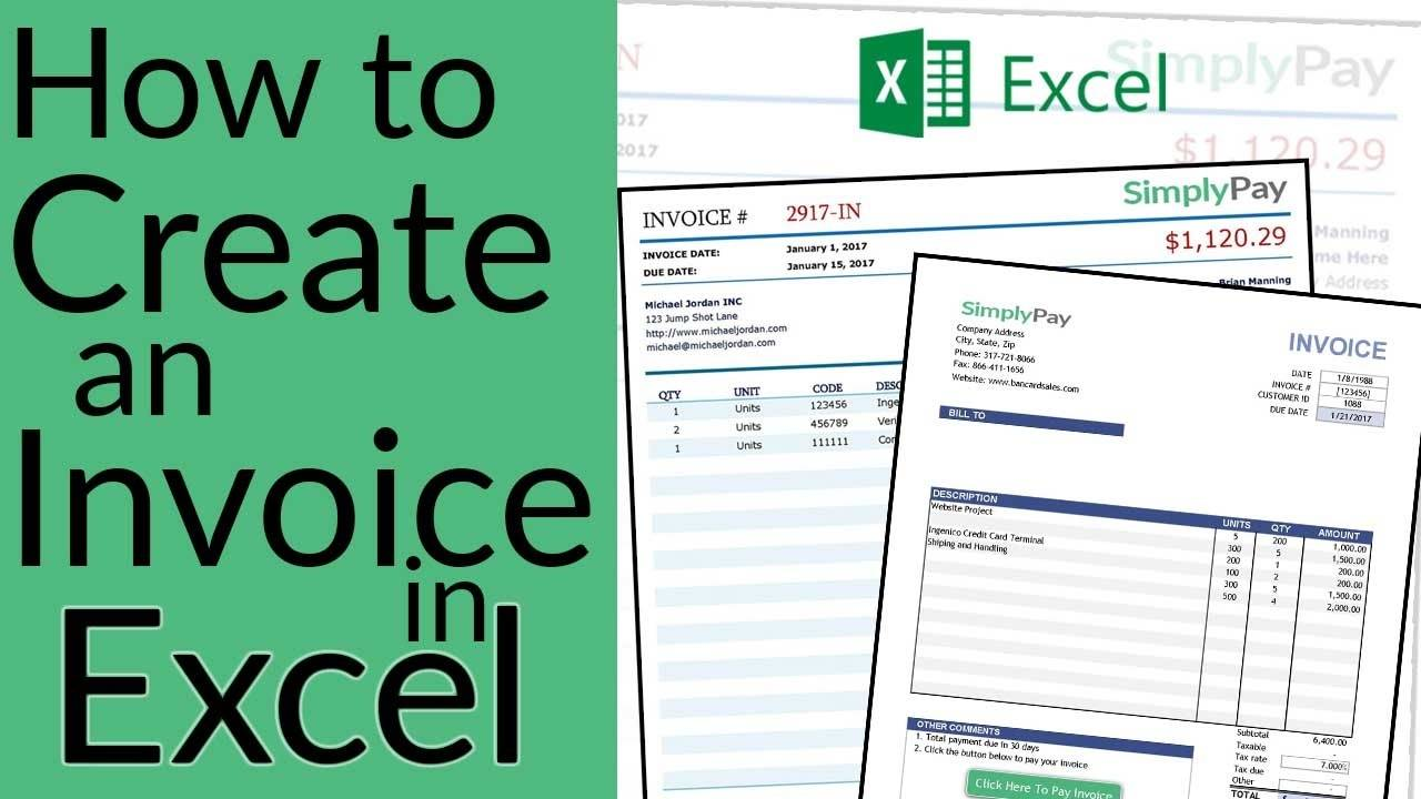 Invoice Template In Excel Download