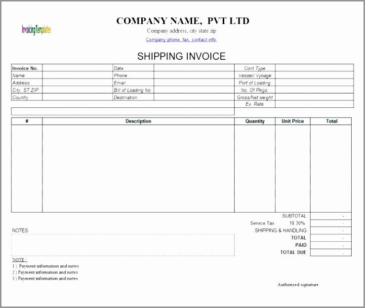 Invoice Template Microsoft Works Word Processor