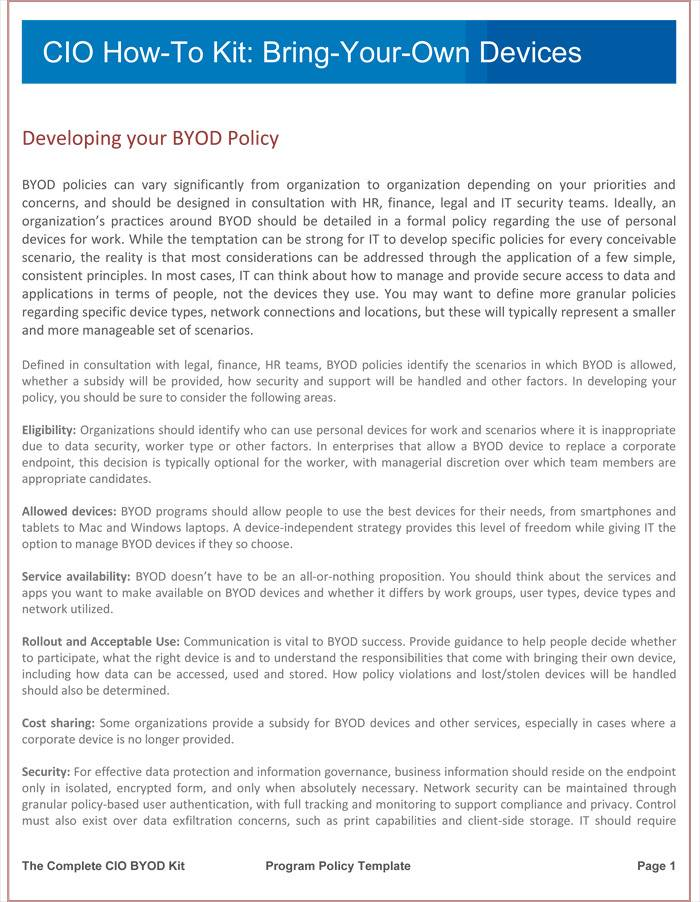 Iso 27001 Policy Templates Download