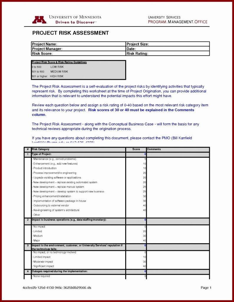 Iso 27001 Risk Assessment Example