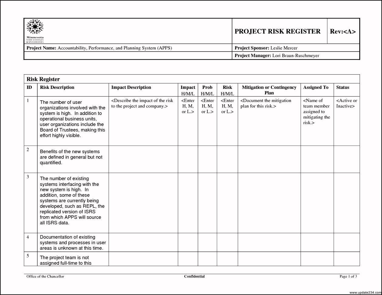 Iso 27005 Risk Assessment Template Xls