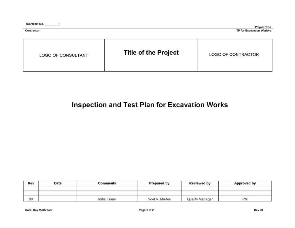 Iso 9001 Sop Template