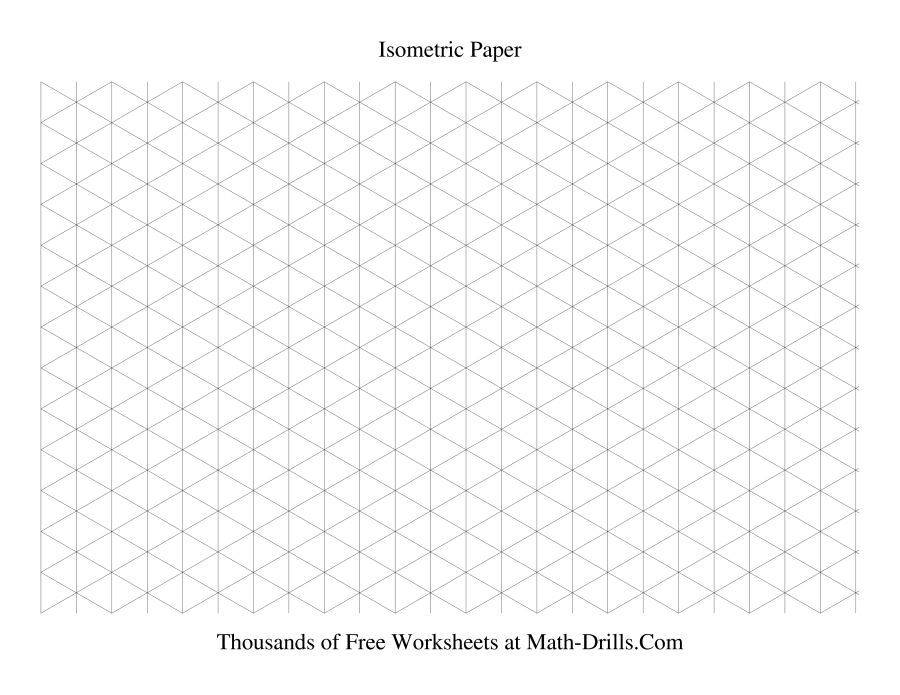Isometric Drawing Template Pdf