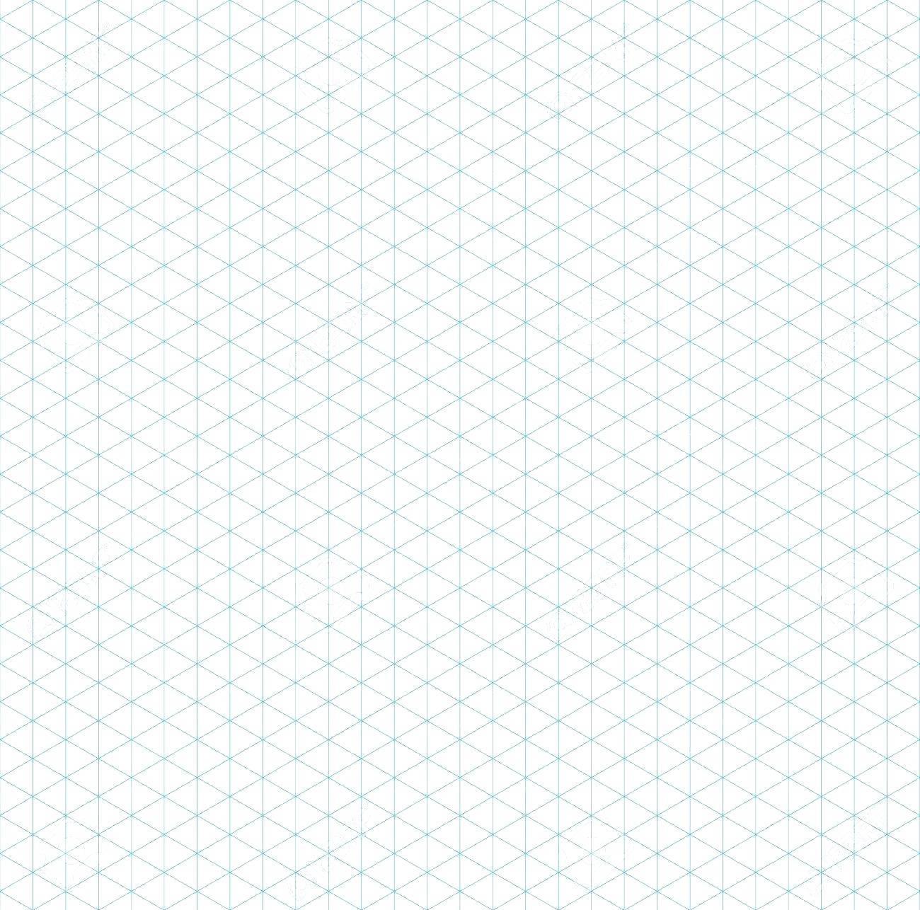 Isometric Grid Template Ai