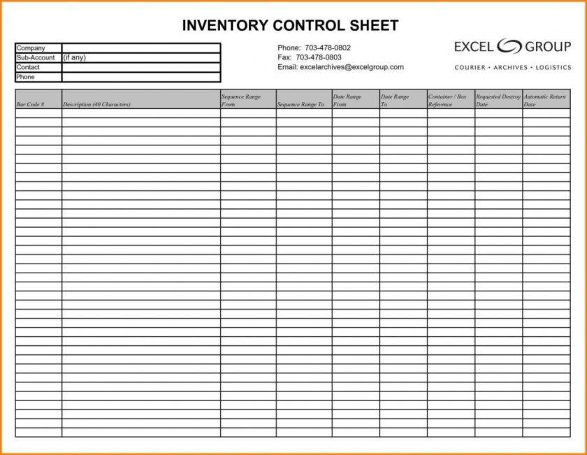 It Asset Inventory Spreadsheet Templates