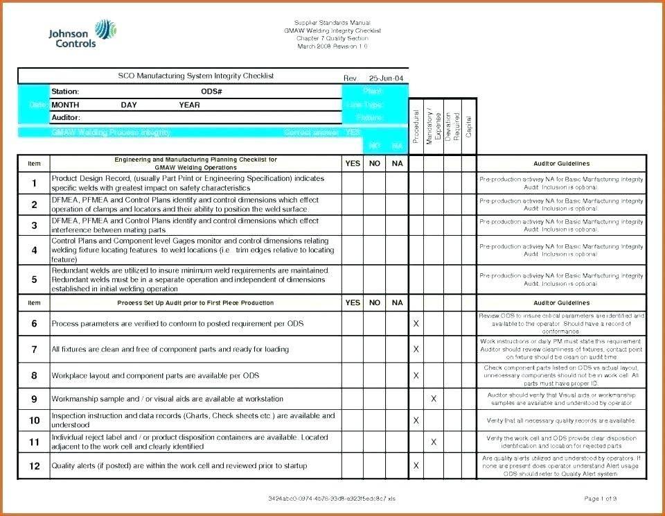 It Audit Project Plan Template