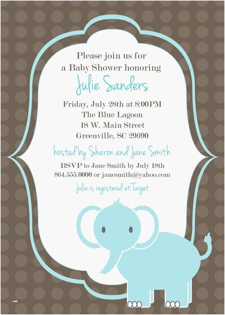 It's A Boy Baby Shower Invitation Free Templates