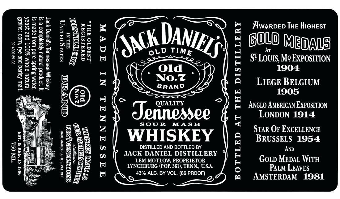 Jack Daniels Invitation Template Free
