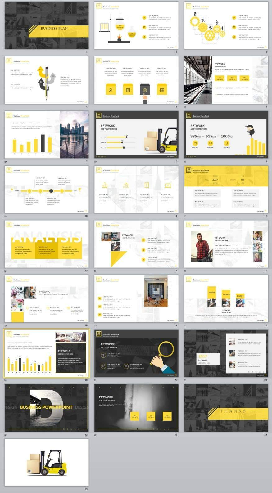 Jafar Business Plan Powerpoint Template Free