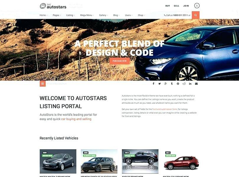 Jm Car Dealer Joomla Template