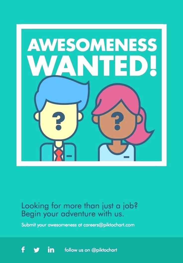 Job Advertisement Template Html