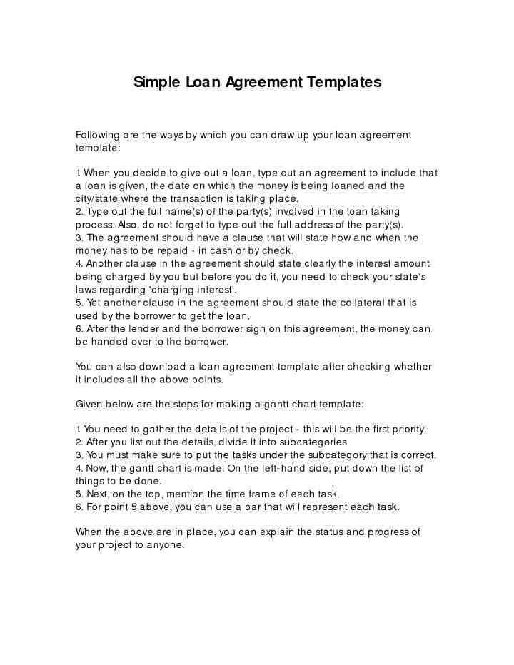 Joint Mortgage Agreement Template