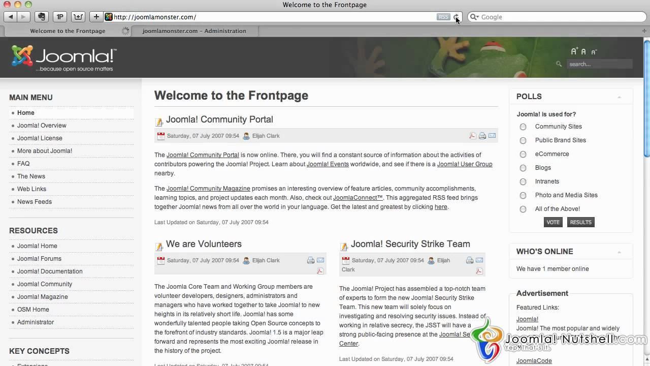 Joomla 1.5 Template Editor