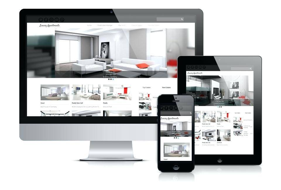 Joomla 3 Real Estate Template Free
