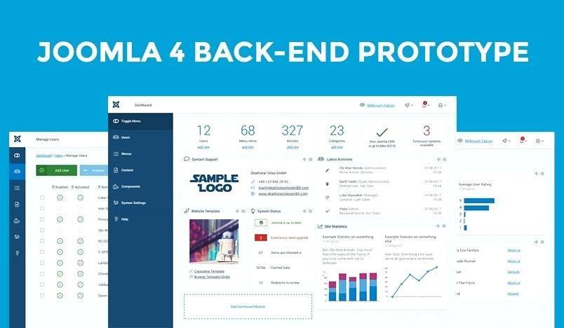 Joomla Administrator Templates Free Download