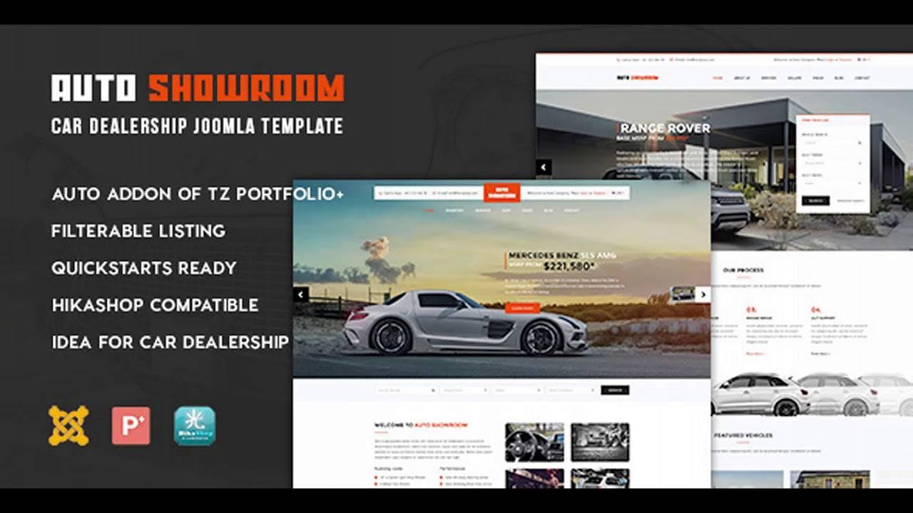 Joomla Car Dealership Template