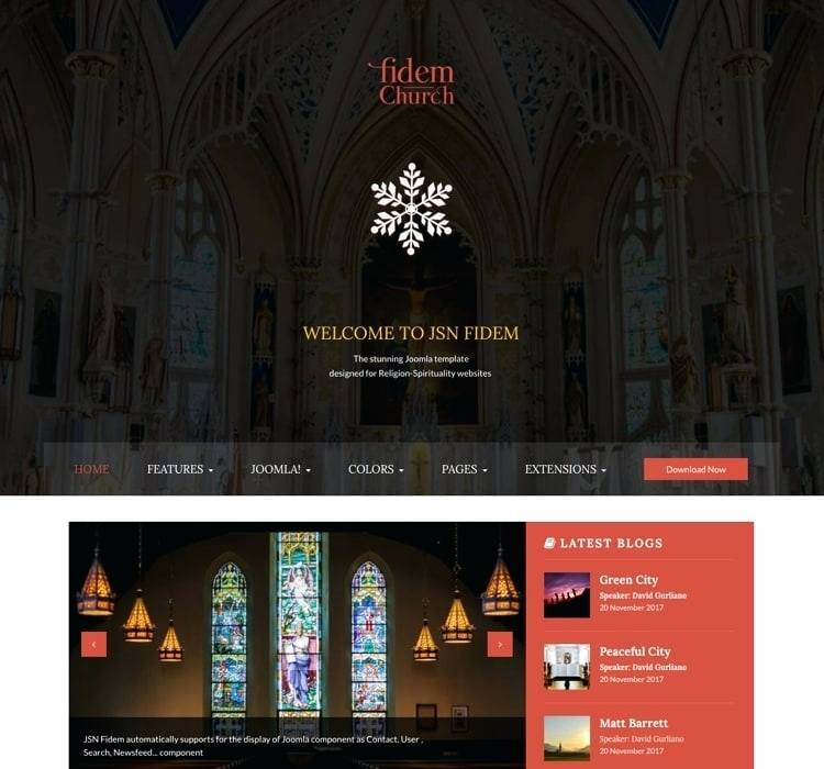 Joomla Catholic Church Templates
