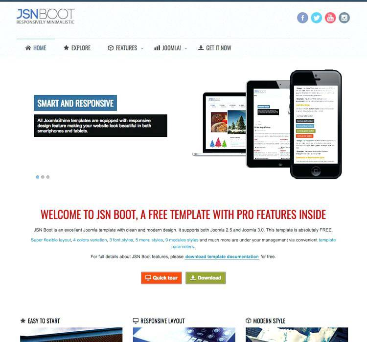 Joomla Classifieds Template Free Download