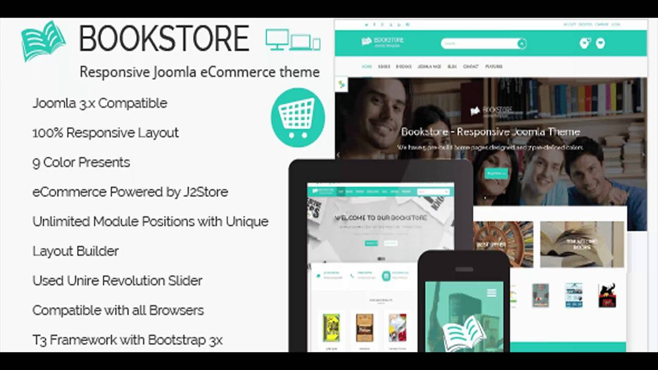 Joomla Ecommerce Website Templates