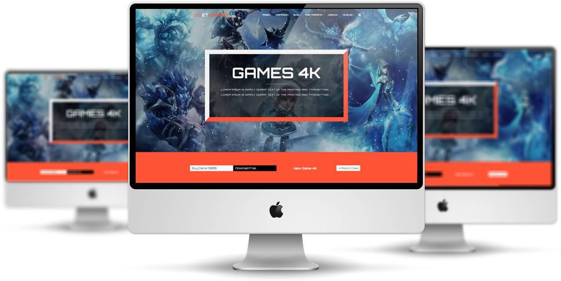 Joomla Gaming Templates Free