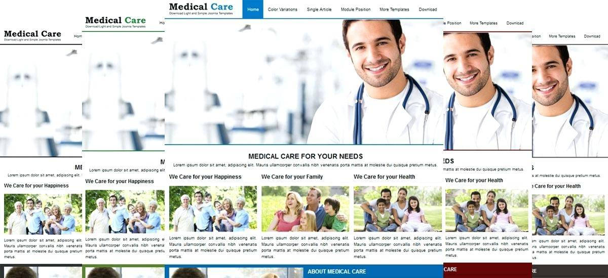 Joomla Medical Template Free