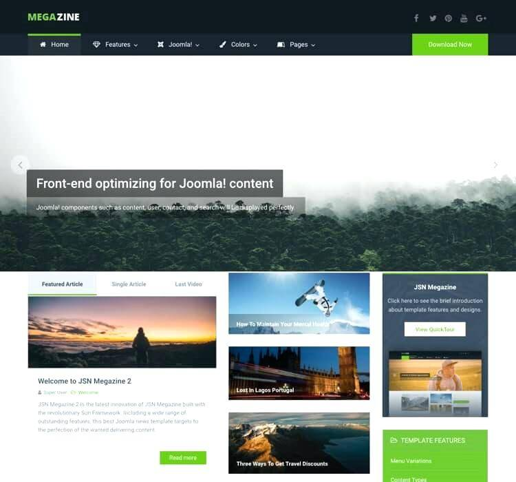Joomla Real Estate Listing Template