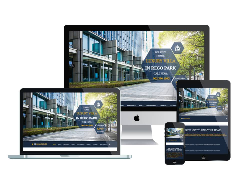Joomla Real Estate Template Free