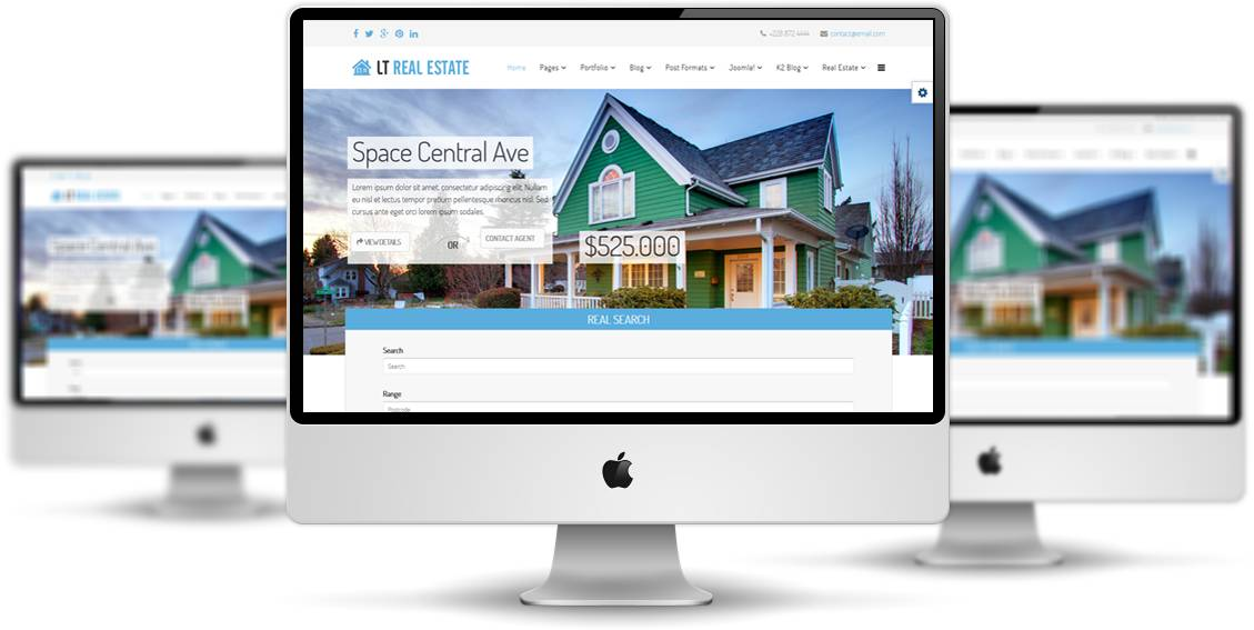 Joomla Real Estate Template